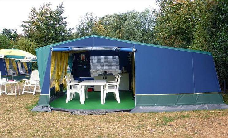 2 bed Bungalow tent - rent a tent blue