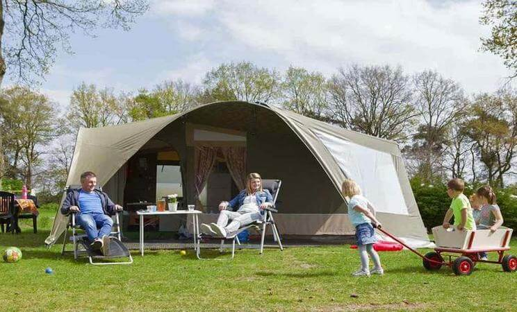 2 bed GlamLodge tent - sleeps 6